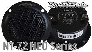Обзор рупорных автомобильных твитеров на неодиме Dynamic State NT-7.2 NEO