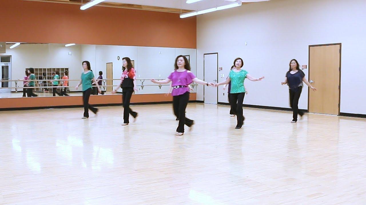 Love rush line dance step sheet