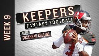 NFL Week 9 starts, sits and fantasy football advice