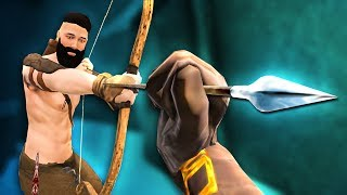 CATCH AN ARROW WITH YOUR HANDS!  - Blade and Sorcery Early Access - HTC Vive Pro Gameplay