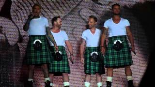 Boyzone - A Different Beat - Edinburgh  Castle, Scotland