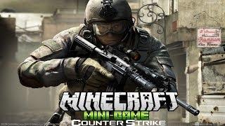 Counter Strike в Minecraft - Мини Игры - #1 - Тащим!