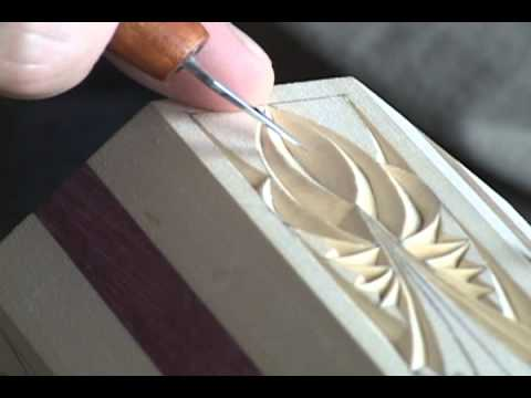 Chip carving how to spell relief part youtube