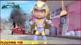 Vir : The Robot Boy | Floating Vir | 3D Action shows for kids | WowKidz Action