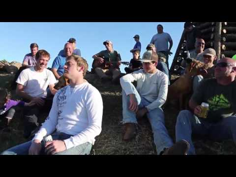 A levee sing-along: Music for Christmas bonfire building