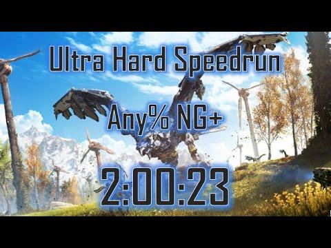 Horizon Zero Dawn Speedrun: Any% NG+ (Ultra Hard) in 2:00:23 [World Record] thumbnail