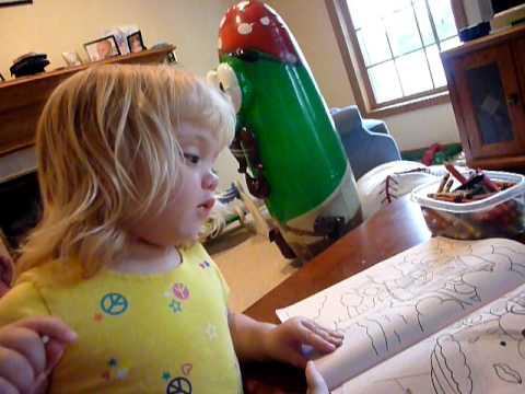 VeggieTales coloring book - YouTube