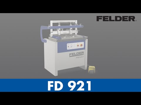 FD 921 – Machine à tourillonner
