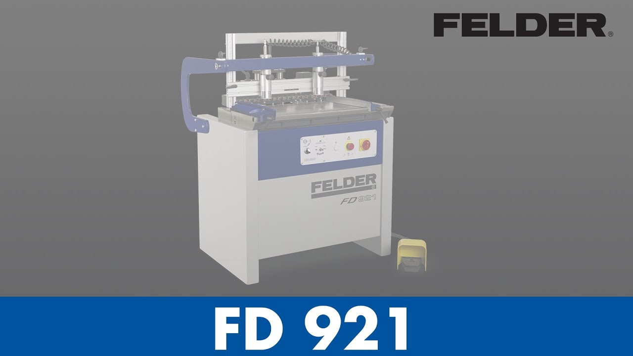 Felder 174 Fd 921 Dowel Boring Machine English Youtube