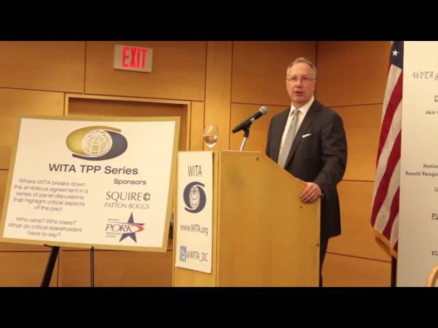 WITA TPP Series: Digital Trade-Amb. Robert Holleyman pt 2 4/7/16