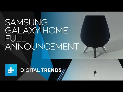Samsung Galaxy Home - Full Announcement