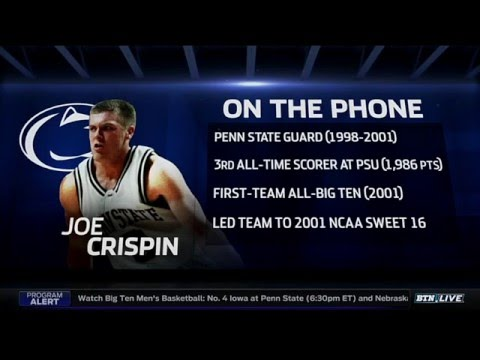 Joe Crispin Talks Penn State All-Time Starting Five