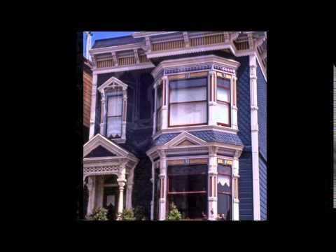 Painted Ladies -- Victorian Houses in San Francisco