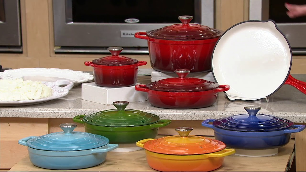 Grant Cast Iron Cookware Set On Qvc