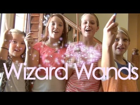 DIY Wizard Wands Inspired By Wizards of Waverly Place