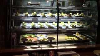 Шведский стол на круизном корабле.  Бери- не хочу.(Desserts and other yummies on ms Noordam, Holland America Line. Dinner buffet on Lido., 2014-08-19T10:10:06.000Z)