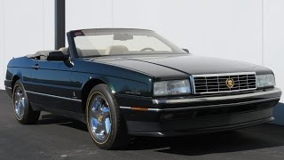 1993 Cadillac Allante w/21k miles (32v Northstar) | Full Tour, Start Up, and Test Drive
