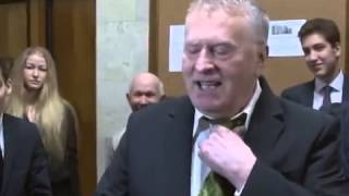 В  Жириновский о Горбачёве!!!