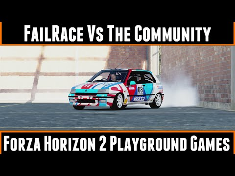 FailRace Vs The Community Forza Horizon 2 Playground Games