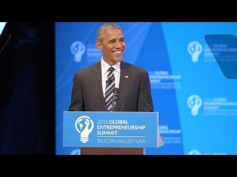 Global Entrepreneurship Summit @ Stanford: Barack Obama Highlights
