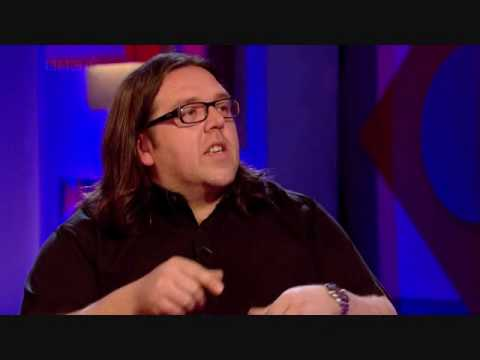 (HQ) Nick Frost on Jonathan Ross 2010.05.14