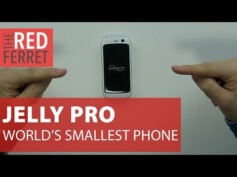 Jelly Pro - World's Smallest SmartPhone Ever! [REVIEW]
