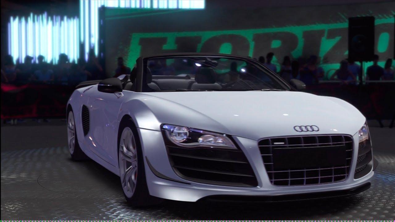 Audi R8 GT Spyder Review Forza Horizon - YouTube
