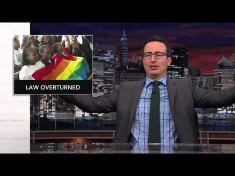 Last Week Tonight: Uganda Anti-Gay Law Overturn