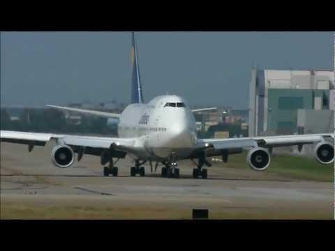 Lufthansa  德國漢莎航空公司Boeing 747-400 D-ABTH depart RCTP