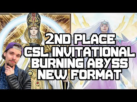 NEW FORMAT Burning Abyss 2nd Place CSL Deck Profile Joshua Oosters