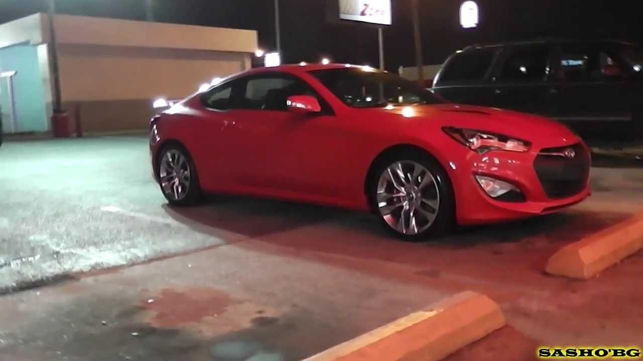 2013 hyundai genesis coupe 3 8 track manual red for sale sasho 39 bg youtube. Black Bedroom Furniture Sets. Home Design Ideas