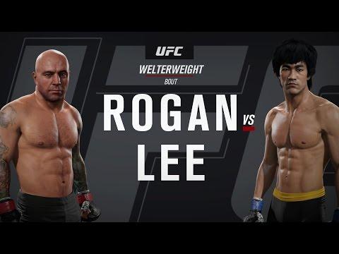 Joe Rogan vs Bruce Lee -EA UFC 2