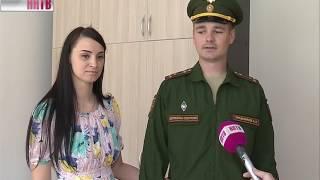 видео: Новые квартиры получили военнослужащие в посёлке Мулино Володарского района