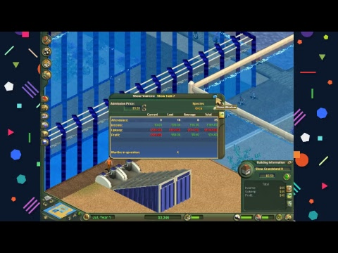 Zoo Tycoon Complete Collection (Marine Mania) ~ Things Go Swimmingly