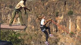 Kpumpkin Zimbabwe gorge jump 2018, wow