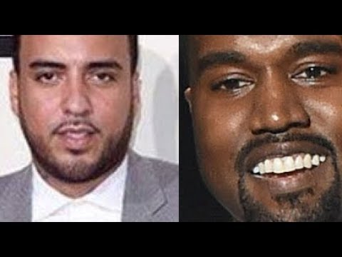 Kanye West COPYING FRENCH MONTANA Going To UGANDA, French Montana Unforgettable allegedly