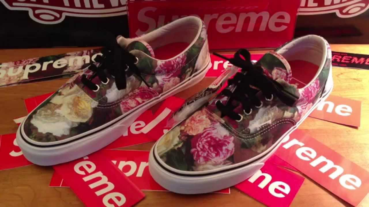 8956bc4ff1 Supreme 2013 Unboxing PCL- Vans Era Pro -ON FEET AT END + deck collection   HD
