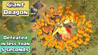Giant Dragon Speedrun | Clash of Clans
