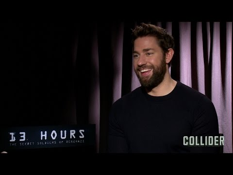 John Krasinski on '13 Hours', Working with Michael Bay, and Dunkin Donuts