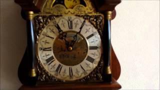 Large Warmink Dutch 8 Day Nut Wood Sallander Wall Clock For Sale On Ebay Uk.