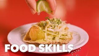 The Perfect Fish Tacos, According to Oscar Hernandez | Food Skills thumbnail