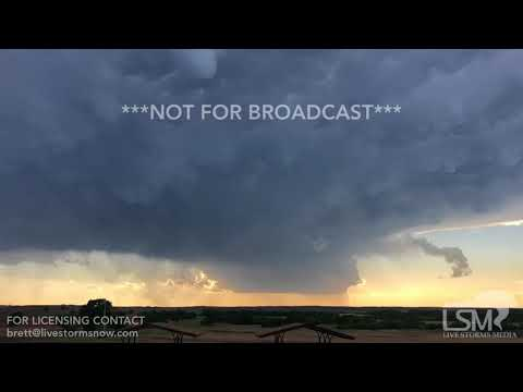 5-25-18 Texas Panhandle LP Supercell
