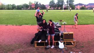 St.Francis Xavier Senior Sunset 2013 Performance- Perfect by Pink Cover (Danica and Amy)