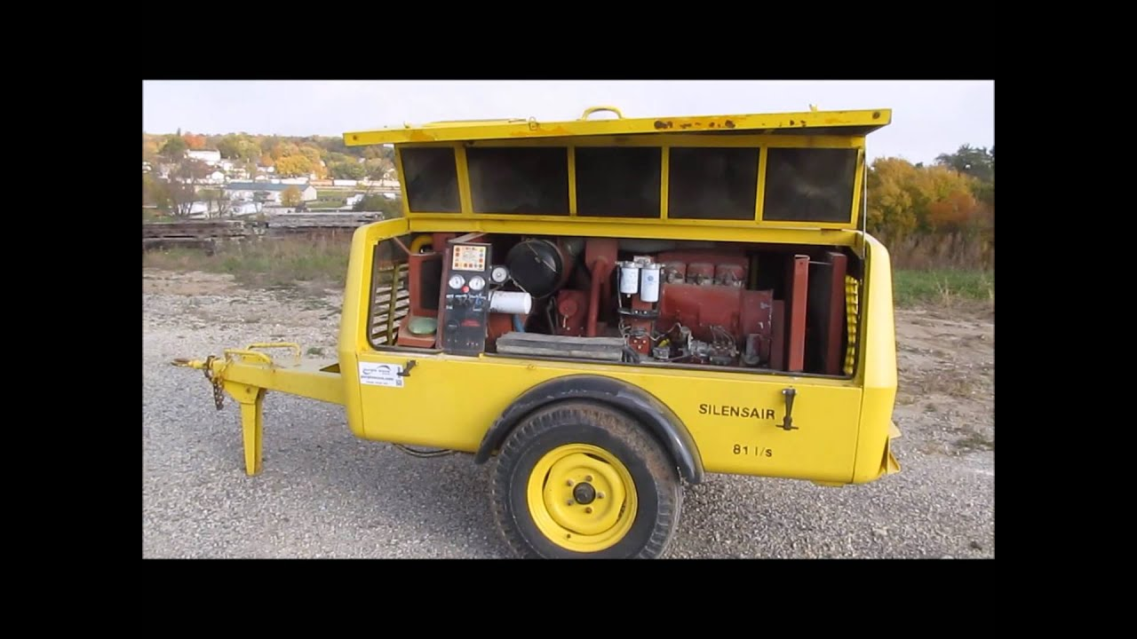 atlas copco xas80 air compressor for sale sold at auction november 20 youtube