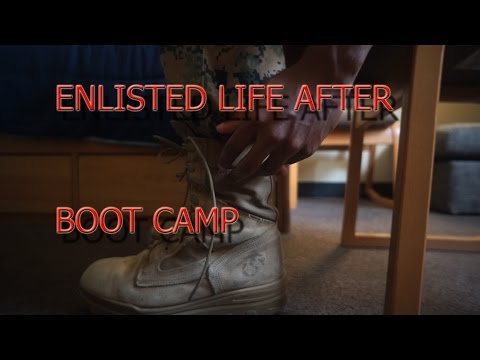 Life After Boot Camp Enlisted Marine