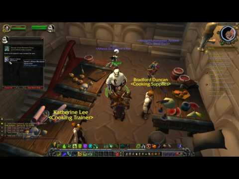 World of Warcraft Opening the Test Kitchen Cooking Alliance Legion Quest Guide