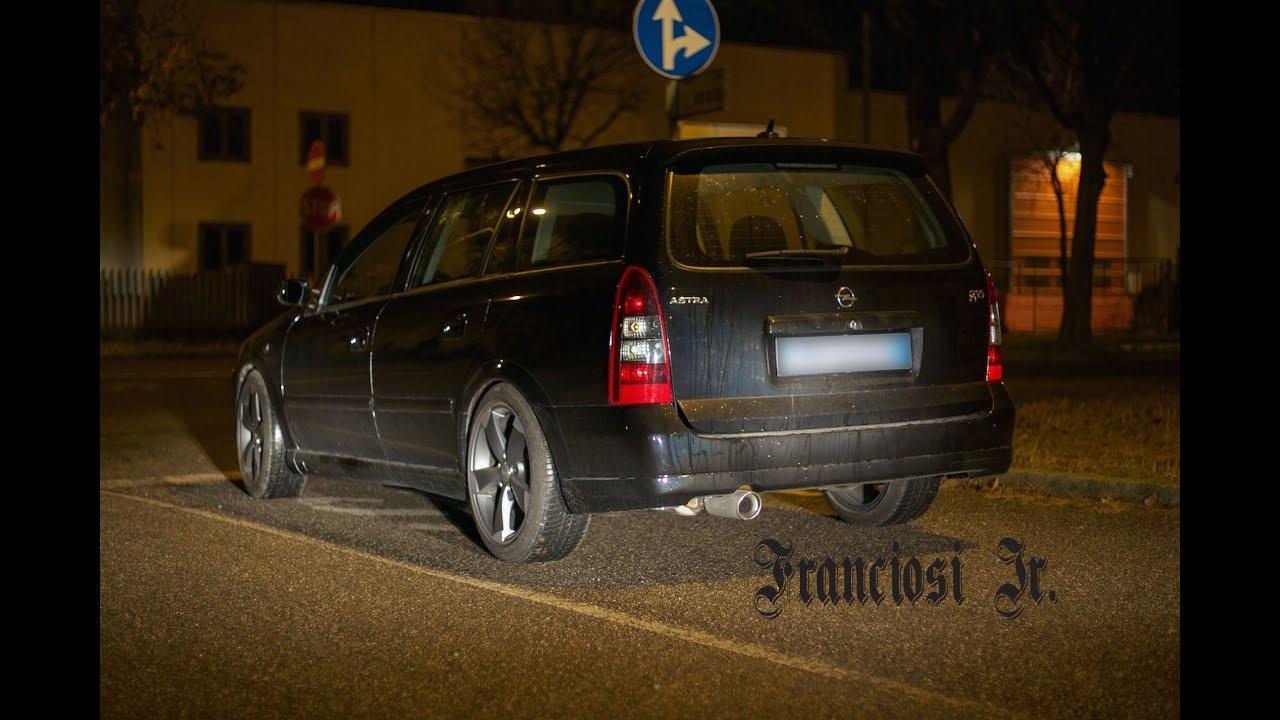 Opel Astra G Caravan Opc 2003 Start Up Sound Revs Accelerations