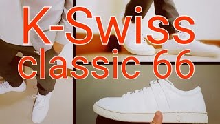 KSWISS Classic 66 Unboxing Number 0487/1966