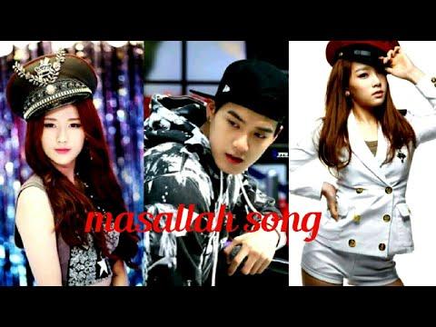 Masallah Masallah Song | Ek Tha Tiger Film | Korean Mix By Fun Girls Videos K Pop Mix