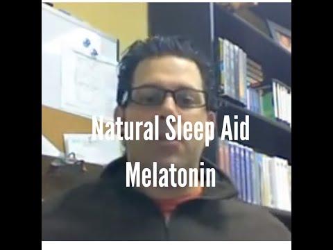 Natural Sleep Aid: Melatonin